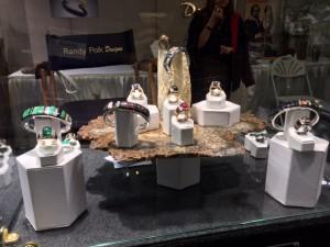 Randy Polk Designs jewelry (Lynn Varon photo)