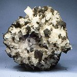 chalcocite crystals intimate growth