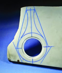 Stone girdle