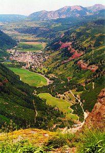 Telluride gold camp