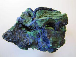 Oxidized copper ore