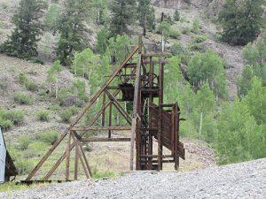 Inactive mine