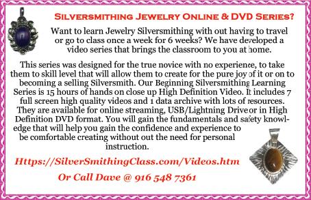 Silversmithing Jewelry Series