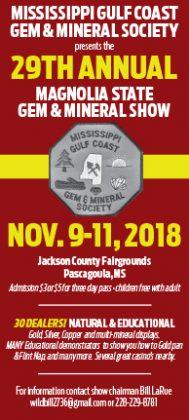 Magnolia State Gem & Mineral Show