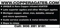 Copper Agates