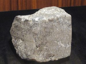 block of native silver