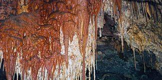 Kartchner Caverns stalactites