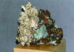 Silver and copper specimen