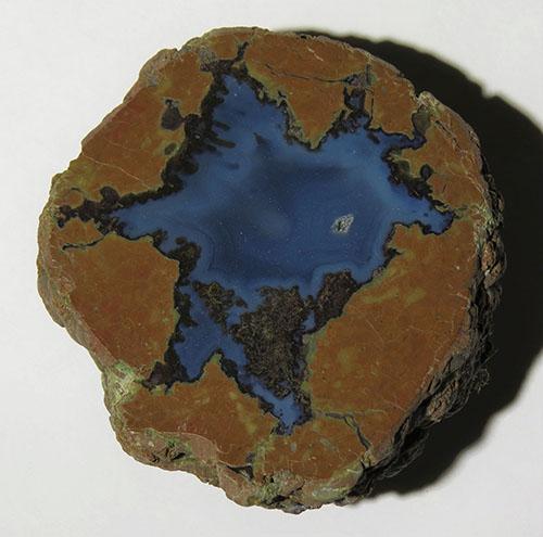 Blue Bed thunder egg
