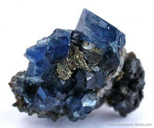 Blue scorodite