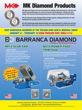 Barranca Diamond Products