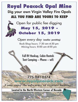 Royal Peacock Opal Mine