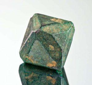 Malachite-coated cuprite