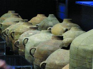 Ceramic storage vessels