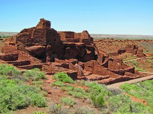 Ruins at Arizona Wupatki National Monument