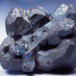 Crystalized bornite
