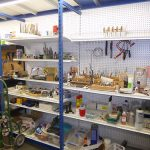 Supplies for lapidary and jewelry classes