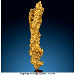 Lightning Bolt gold nugget