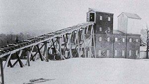 Willam Shaft joist and stamp mill photo