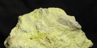 Sulfur in sedimentary rocks