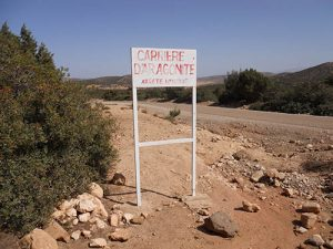 Entry to moroccan mine