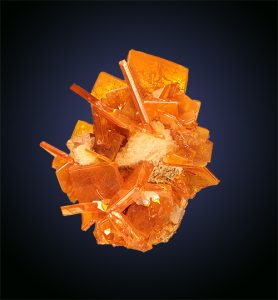 Wulfenite Erupcion mine