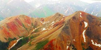 Red Mountains of Colorado