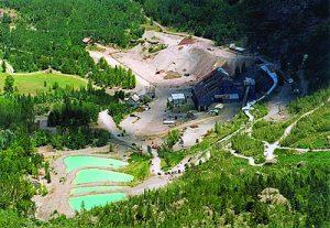 Camp Bird mine