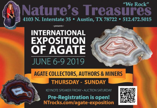 Nature's Treasures / International Exposition of Agate