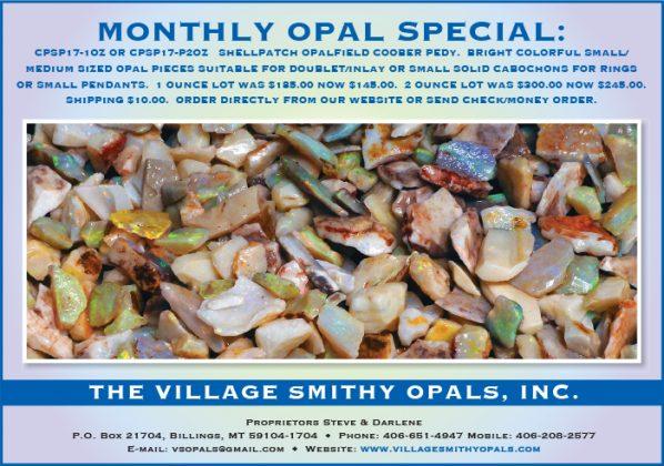Village Smithy Opals, Inc.