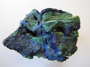 Oxidized copper ore