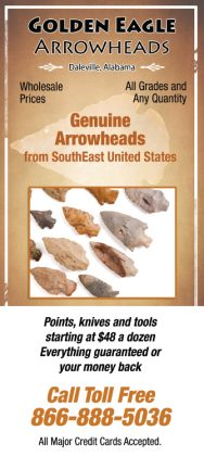 Golden Eagle Arrowheads