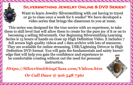 Silversmithing Jewelry Series