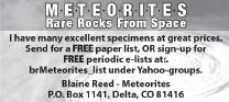 Blaine Reed Meteorites