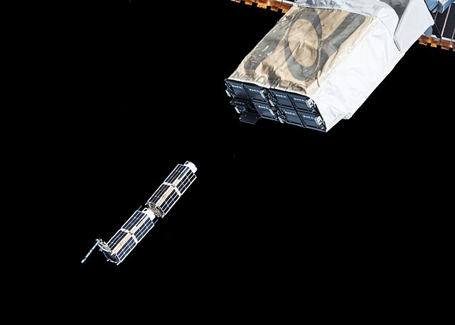 CubeSats deployment