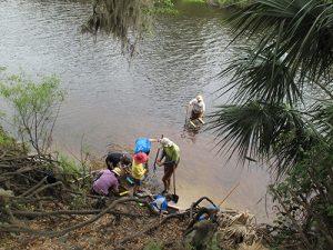 Navigating the river