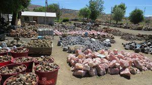 Well-organized rough piles