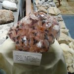 Hematite-coated calcite