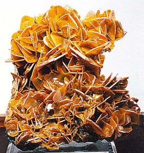 Wulfenite from Glove mine