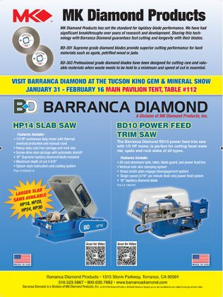 Barranca Diamond Products