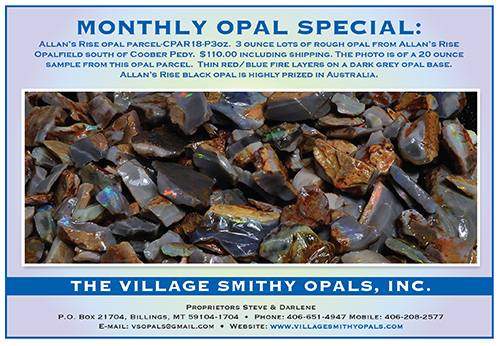 The Village Smithy Opals, Inc.