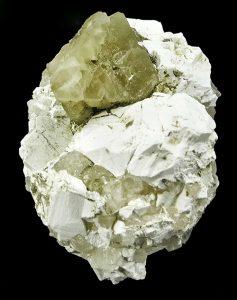Borax and tincalconite matrix
