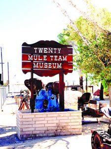 Twenty Mule Team Museum entry