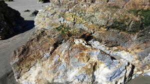 Rhyolite formation Avila Beach