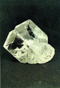 Twinned calcite