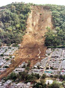 El Salvador landslide
