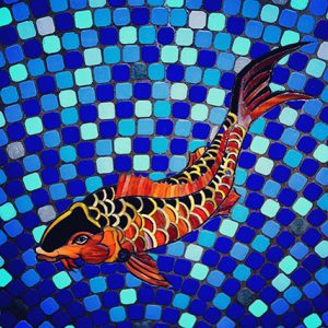 Mosaic art by Jazz
