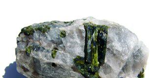 Pistachio green epidote