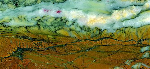 Landscape appearance slab