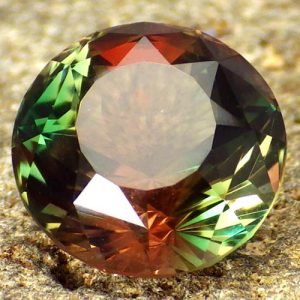 Faceted sunstones